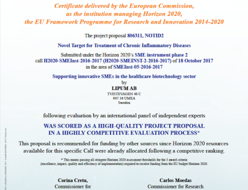 Horizon 2020 – Seal of Excellence