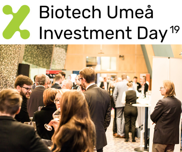 Life science meeting at Umeå Biotech Investment day